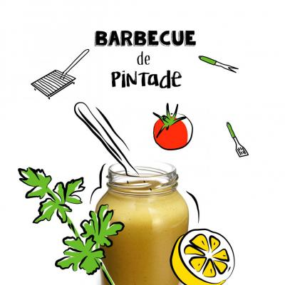 Barbecue de pintade