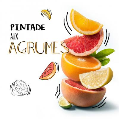 Pintade aux agrumes